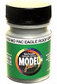 Badger Model Flex 16-170 MP Mo Pac Eagle Roof Gray 1 oz Acrylic Paint Bottle