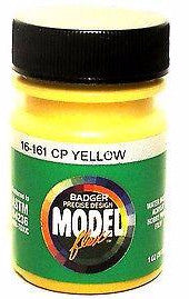 Badger Model Flex 16-161 CP Canadian Pacific Yellow 1 oz Acrylic Paint Bottle