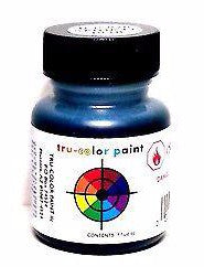 Tru-Color TCP-020 ATSF Santa Fe Blue 1 oz Paint Bottle