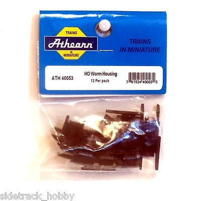 HO Scale Athearn 40053 Worm Housing (12) pcs