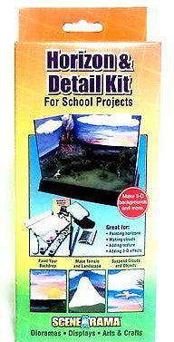 Woodland Scenics SP4132 Scene-A-Rama Kit Horizon & Detail Kit
