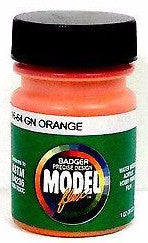 Badger Model Flex 16-64 GN Great Northern Orange 1 oz Acrylic Paint Bottle