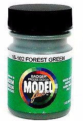 Badger Model Flex 16-102 Forest Green 1 oz Acrylic Paint Bottle