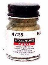 Model Master 4728 Olive Drab FS34087 1/2 oz Acrylic Paint Bottle
