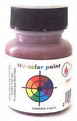 Tru-Color TCP-210 CNJ Central New Jersey Freight Car Red 1 oz Paint B