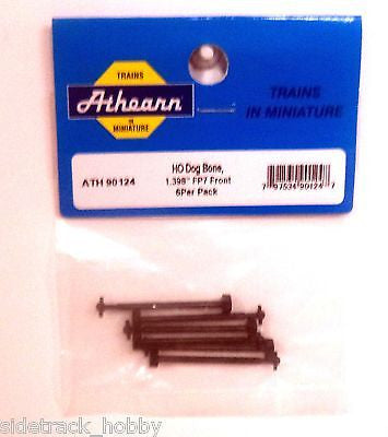 "HO Scale Athearn 90124 Dog Bone 1.398"" for FP7 Front (6) pcs"