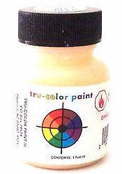 Tru-Color TCP-225 Passenger Car Interior Cream 1 oz Paint Bottle