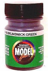 Badger Model Flex 16-16 Pennslvania PRR Brunswick Green 1 oz Acrylic Paint