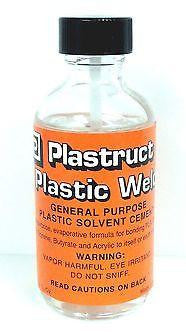 Plastruct PLS 00002 Plastic Weld Liquid Cement 2 oz Bottle