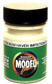 Badger Model Flex 16-179 New Haven Imitation Silver 1 oz Acrylic Paint Bottle