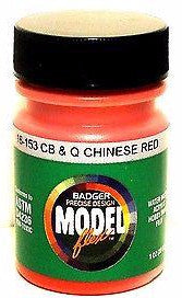 Badger Model Flex 16-153 CB&Q Burlington Chinese Red 1 oz Acrylic Paint Bottle