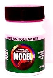 Badger Model Flex 16-06 Antique White 1 oz Acrylic Paint Bottle