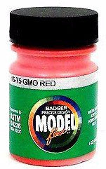 Badger Model Flex 16-75 GM&O Gulf Mobile & Ohio Red 1 oz Acrylic Paint Bottle