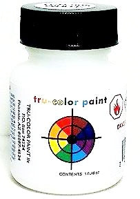 Tru-Color TCP-005 Reefer White 1 oz Paint Bottle