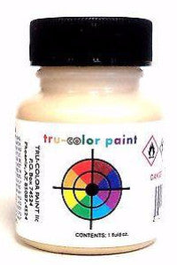 Tru-Color TCP-832 Flat Depot Buff 1 oz Paint Bottle