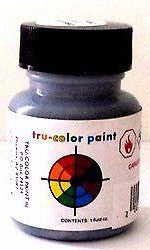 Tru-Color TCP-802 Flat Dark Gray 1 oz Paint Bottle