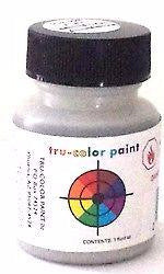 Tru-Color TCP-828 Flat Imititation Aluminum 1 oz Paint Bottle
