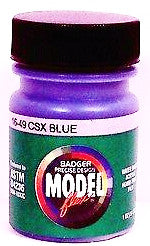 Badger Model Flex 16-49 CSX Blue 1 oz Acrylic Paint Bottle
