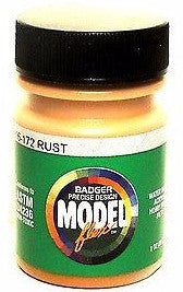 Badger Model Flex 16-172 Rust 1 oz Acrylic Paint Bottle