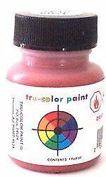 Tru-Color TCP-812 Flat Rust 1 oz  Paint Bottle