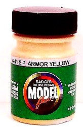 Badger Model Flex 16-41 SP Southern Pacific Armor Yellow 1 oz Acrylic Paint