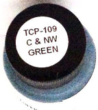 Tru-Color TCP-109 C&NW Chicago & North Western Green 1 oz  Paint Bottle
