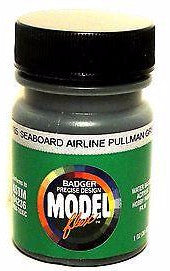 Badger Model Flex 16-185 SAL Seaboard Airline Pullman Green 1 oz Acrylic Paint