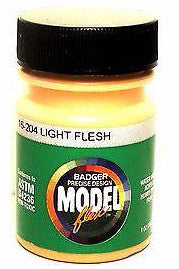 Badger Model Flex 16-204 Light Flesh 1 oz Acrylic Paint Bottle