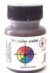 Tru-Color TCP-822 Flat Railroad Tie Brown 1 oz Paint Bottle