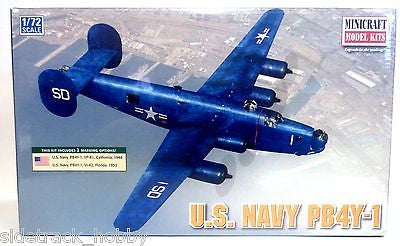 Minicraft 11659 1/72 Scale US Navy PB4Y-1 Post War Model Kit