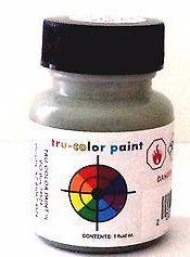 Tru-Color TCP-231 Passenger Car Interior Dark Green 1 oz Paint Bottle Bottle