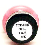 Tru-Color TCP-055 SOO Line Red 1 oz Paint Bottle