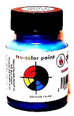 Tru-Color TCP-031 B&M Boston and Maine Blue 1 oz Paint Bottle
