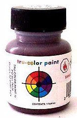 Tru-Color TCP-221 NYC New York Central Freight Car Red 1 oz Paint Bottle