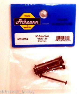 "HO Scale Athearn 48060 Drive Shaft, SD40-2 1.39"" (6) pcs"
