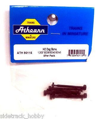 "HO Scale Athearn 90115 Dog Bone 1.305"" for SD38/SD40/SD45 (6) pcs"