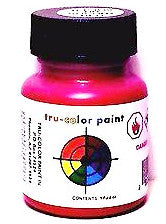 Tru-Color TCP-039 NH New Haven Socony Red 1 oz Paint Bottle