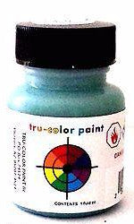 Tru-Color TCP-810 Flat Light Green 1 oz Paint Bottle