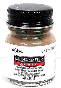 Model Master 4604 Skin Tone Shadow Tint 1/2 oz Acrylic Paint Bottle