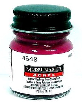 Model Master 4640 Hot Pink Pearl GP00350 1/2 oz Acrylic Paint Bottle