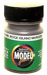 Badger Model Flex 16-199 CRI&P Rock Island Maroon 1 oz Acrylic Paint Bottle