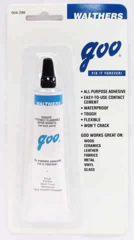 Walthers 904-299 Goo All-Purpose Adhesive 1oz (29.lmL) Tube
