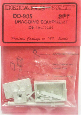 HO Scale Details West DD-905 Dragging Equipment Detector Set