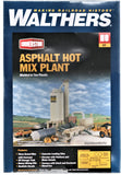 HO Scale Walthers Cornerstone 933-3085 Black Gold Asphalt Hot Mix Plant Kit