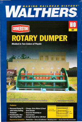 HO Scale Walthers Cornerstone 933-3903 Superior Paper Rotary Dumper Kit