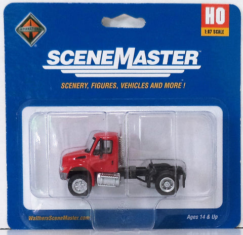 HO Scale Walthers SceneMaster 949-11131 International 4300 Single-Axle Semi Tractor