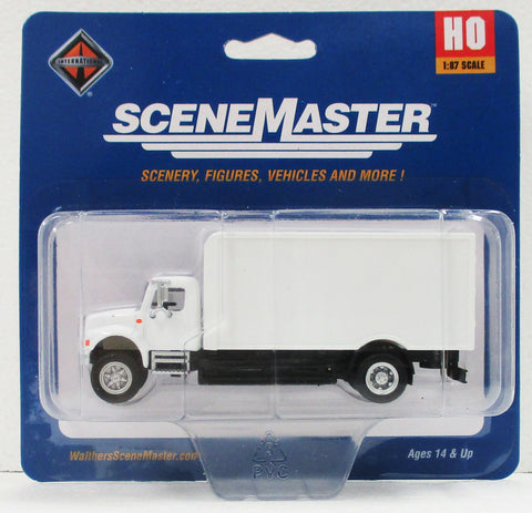 HO Scale Walthers SceneMaster 949-11290 International 4900 Single-Axle Box Truck