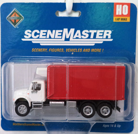 HO Scale Walthers SceneMaster 949-11391 International 4900 Refrigerated Truck