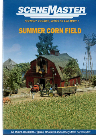 HO Scale Walthers SceneMaster 949-1140 Summer Corn Field Kit
