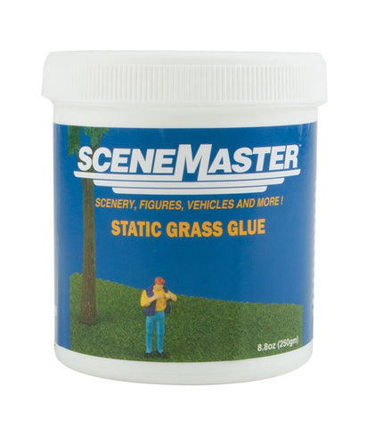 Walthers SceneMaster 949-1200 Static Grass Glue 8.8oz 250g